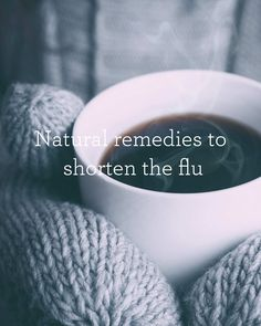 10 Ways to Shorten the flu! Winter is well and truly on it's way and along with it comes snuggling up with a good book, sipping tea by a crackling fire, wearing your favourite warm woolly scarf, eating hot soup in your favourite cosy café along with all those other wonderful winter activities.  Yes, winter does mean we get to experience some wonderful things, but along with these come sneezes, runny noses, sniffles, coughs and colds and these really put a dampener on the whole winter…