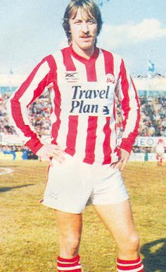 Roger Albertsen of Olympiaikos of Greece in Trip Planning, Ronald Mcdonald, Athlete, Polo Ralph Lauren, Polo Shirt, Football, How To Plan, History, Sports