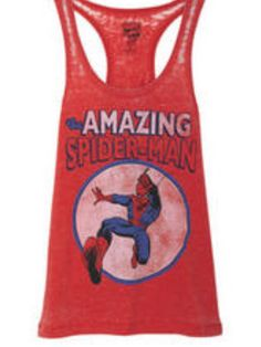 The Amazing Spider Man shirt from Delia's... Soooo getting this shirt!!!! :)