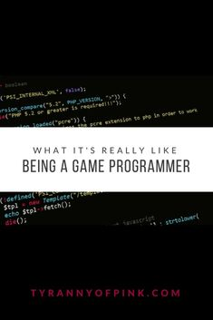 To be a Game Programmer, usually you would require a computer science degree, but with a really good portfolio and passion for coding, you'll get the job interviews. Game Programmer, Computer Science Degree, Just Be You, Get The Job, What Is Like, Letting Go, Hold On, How To Become, Career