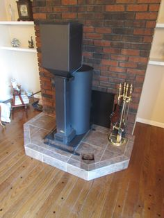 Building permit approved rocket stove, comes with optional pellet hopper and more! - Liberator Rocket Heaters