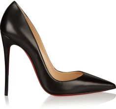 Christian Louboutin So Kate 120 Leather Pumps  -- RED SOLE