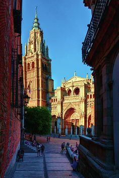 George Westermak Photograph - St Marys Cathedral - Catholic Cathedral In Toledo…