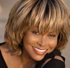 73 year's old. Tina Turner - Just love her...  Just fabulous!!