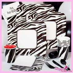 Bonitas ideas para tu próxima fiesta de Zebra Print. Consigue todo para tu fiesta en nuestra tienda en línea:  http://www.siemprefiesta.com/celebraciones-especiales/fiestas-para-adultos/zebra.html?utm_source=Facebook&utm_medium=Post&utm_campaign=Zebra
