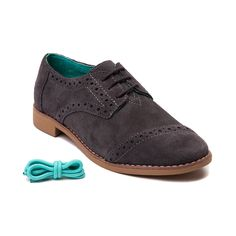 Womens TOMS Brogue Casual Shoe