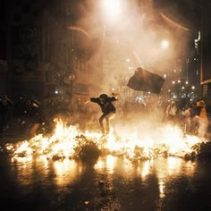 Rio de Janeiro riot Photography by Kenneth Nguyen Instagram @ Kennethnguyen
