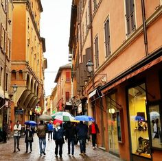 Ah Bologna! Rain or not, always pretty - Instagram by thetraveltester