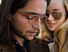 Oliver Peoples - The Soloist Teardrop sunglasses
