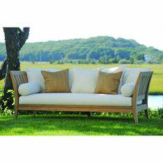 "Kingsley-Bate: Elegant Outdoor Furniture        L D H SH Weight  87"" 39"" 33"" 17""    118 lbs."
