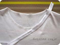 Susanna szyje: Uszyj sobie prostą bluzkę - step by step (cz II)