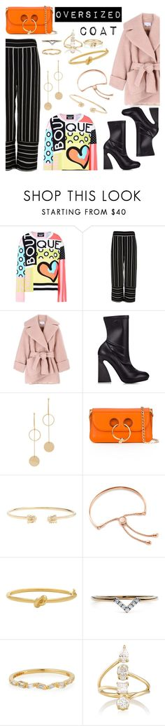 """""""Untitled #856"""" by adda21 ❤ liked on Polyvore featuring Boutique Moschino, River Island, Carven, STELLA McCARTNEY, Cloverpost, J.W. Anderson, Gucci, Monica Vinader, Kate Spade and Diamonds Unleashed"""