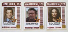 Warehouse 13 ID Badges