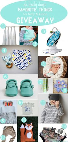 oh lovely day's favorite things for littles giveaway | Oh Lovely Day
