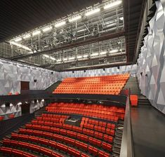 Kilden Performing Arts Centre (Norway) by ALA Architects.