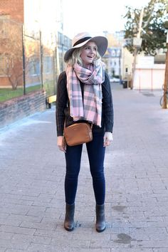 How To Wear Pink In The Winter
