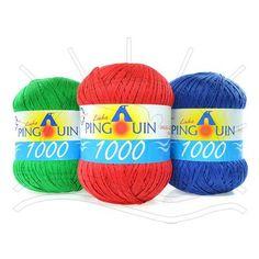 Linha Pingouin 1000 Verão Composição: 100% Algodão Mercerizado Contém: 1000m Fabricante: Pingouin
