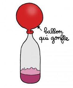 Le ballon autogonflant | Espace des sciences