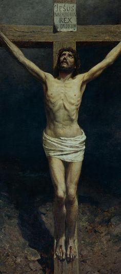 Otto Ludvig Sinding (1842-1909): Crucifixion