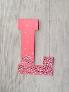 Superb Items Similar To Sparkle Coral Semi Bling Decorative Wall Letters, Bedroom  Decor, Wedding Decoration, Dorm Room, Photo Prop On Etsy