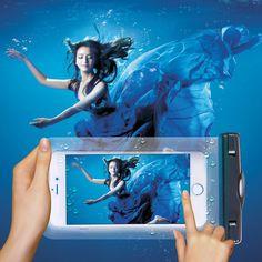 Layar Sentuh tahan air Bawah Air Tas Kasus Penutup Untuk iPhone 5 S SE 6 S 7 Plus untuk Samsung S7 tepi/S6 Untuk Sony Z1 Z2 Z3 Z4 Z5