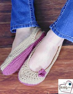 Dream Slippers Crochet Pattern