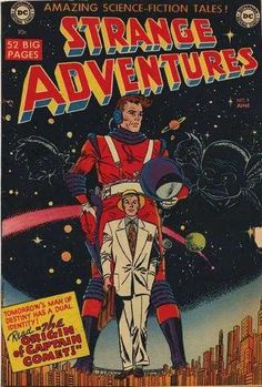 Strange Adventures #9 Captain Comet