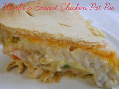 World's Easiest Chicken Pot Pie