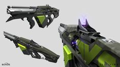 ArtStation - Destiny 2 :Curse of Osiris- The Colony Exotic Grenade Launcher , Dima Goryainov