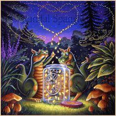"""Flight of the Fireflies,"" by Randal Spangler"