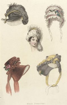 Fashion Plate (Head Dresses) | LACMA Collections