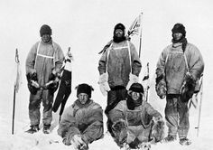 On this day 102 years ago, Sir Robert Falcon Scott and the Terra Nova expedition arrived at the South Pole. Having finished behind Roald Amundsen in a Robert Falcon Scott, Robert Scott, Captain Scott, Roald Amundsen, Heroic Age, Terra Nova, Wale, British History, Norway