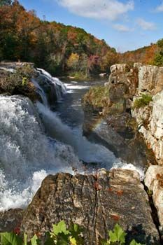 High Falls-one of the most beautiful places in Alabama. Near Gearldine, Al