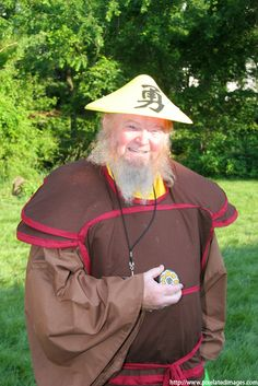 Jerry Glose: Uncle Iroh from Avatar the Last Airbender in Otaku House Cosplay Idol 2012