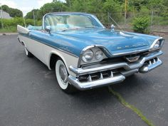 1957 Dodge Custom Royal Maintenance/restoration of old/vintage vehicles: the material for new cogs/casters/gears/pads could be cast polyamide which I (Cast polyamide) can produce. My contact: tatjana.alic@windowslive.com