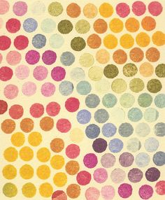 Stamp Dots Art Print by Morris