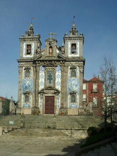 Igreja Santo Ildefonso em Porto- Portugal
