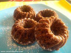 Caceroladas: Bizcochitos de chocolate y mandarina