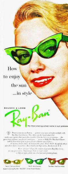 Fotos originais dos anos 50 - Inspirações para festa retrô. Cheap Ray BansCheap  ... e8b7d68166