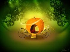 And she turned the pumkin into a wonderful carriage!