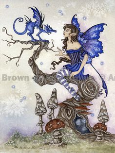 ORIGINAL ART - Watercolor Paintings I - P - Amy Brown Fairy Art - The Official…