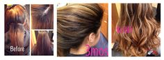 A color correction I did 3mos ago. 3mos out and no brass. She came in today for a touch up. #hairbykellid