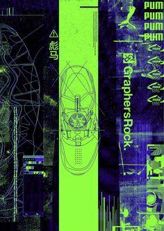 GraphersRock Game Design, Layout Design, Web Design, Graphic Design Posters, Graphic Design Inspiration, Wallpaper Animes, Protest Posters, Sports Graphics, Grafik Design