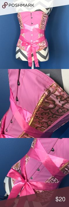 Pink OverBust Corset Pink corset. Super sexy! Other