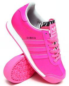 womens adidas samoa pink