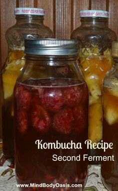 Kombucha is a naturally carbonated fermented tea that is loaded with beneficial bacteria. This Kombucha recipe will show exactly how to make Kombucha at home. Kombucha Flavors, Kombucha Recipe, Probiotic Drinks, Kombucha Tea, Second Ferment Kombucha, Kombucha Probiotic, Vegetarian, Tibicos, Vinaigrette
