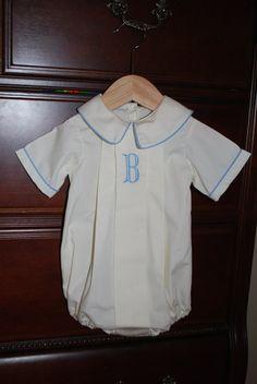 Monogram Bubble for Baby Boy by BradleyJane on Etsy, $48.00 @Ashley Cohron