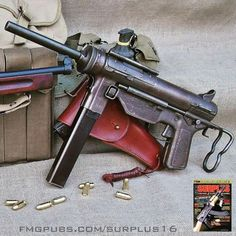 """qualified on this in 1979. M3 """"greasegun""""."""