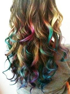 Lauren Conrad, Nicki Minaj and Christina Aguilera have all added pops of pastel and rainbow color to