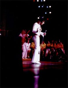 Elvis at the Las Vegas Hilton august 1970